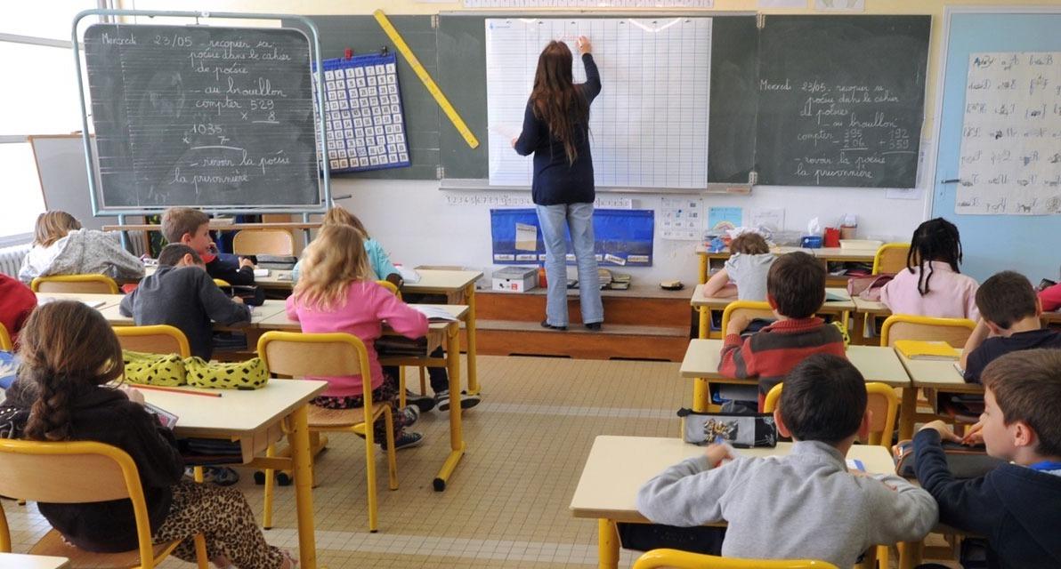 Une salle de classe française