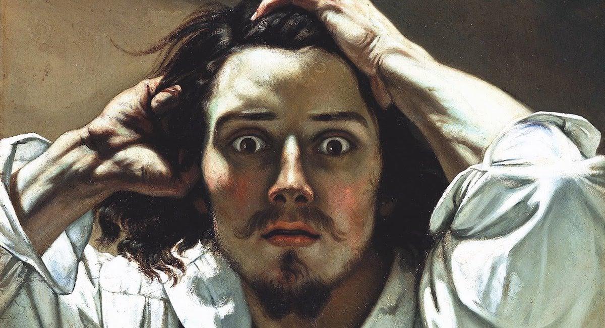 Gustave Courbet - Le désespéré