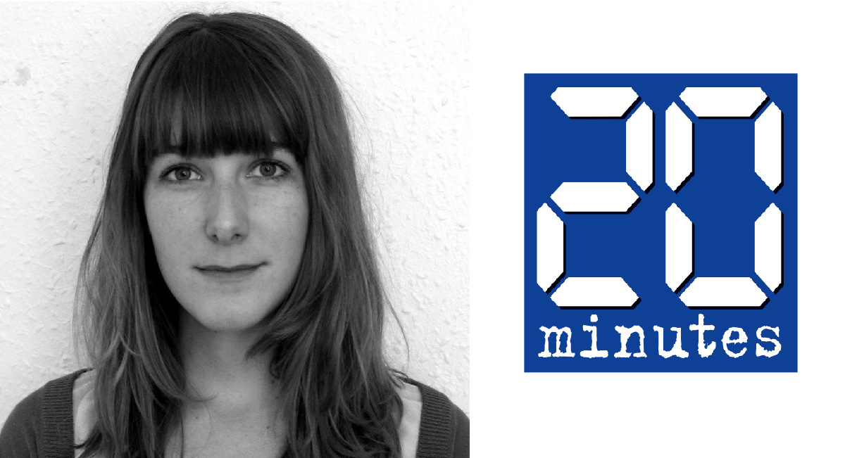 Laure Cometti, journaliste chez 20 minutes