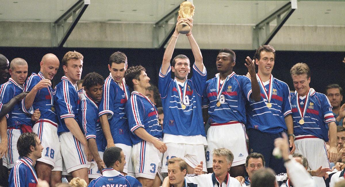 L'équipe de France championne du monde 1998
