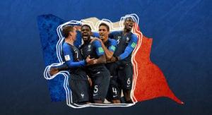 L'équipe de France championne du monde 2018